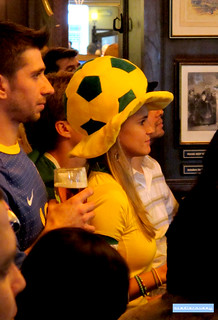 Brazil football fans, London | by adrian, acediscovery