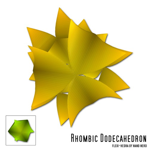 Rhombic Dodecahedron | by nandnerd