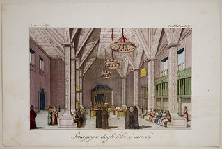 [67.1.13.8] Print: Sinagoga degli Ebrei cinesi (Synagogue of the Chinese Jews), 1827 | by MagnesMuseum