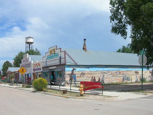 Mosquero's Main Street Businesses