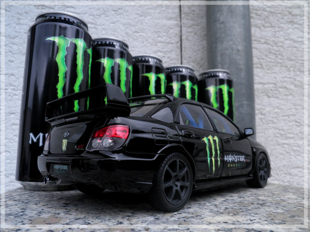 Elegant ... Subaru Impreza WRX STI U0027Monster Energy Drinku0027 | By Japanpower22