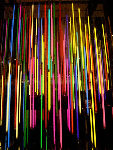 Neon Shower Shot Captured 2008 In Tsim Sha Tsui Tst In