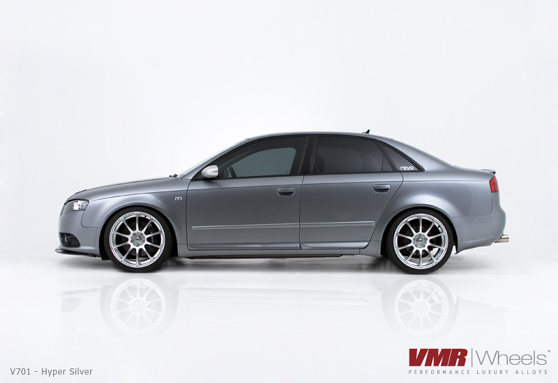 Vmr Wheels V701 19 Quot Hyper Silver On Audi B7 A4 Quartz Gray