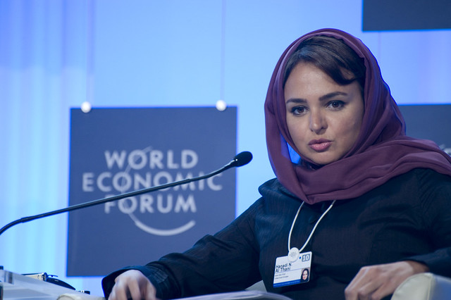 hanadi n al thani world economic forum on the middle