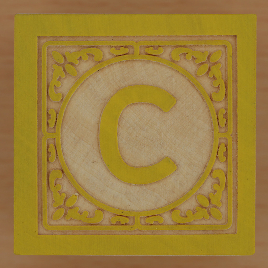 Block letter c leo reynolds flickr for C letter block