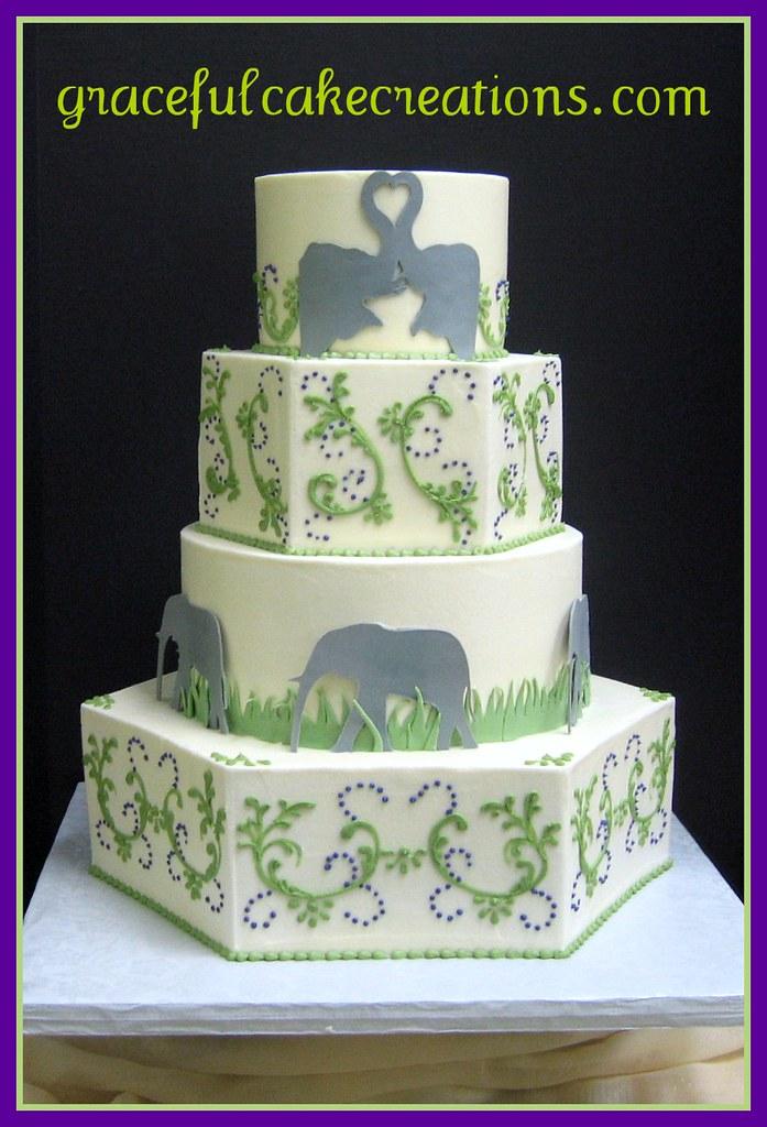 ... Safari Wedding Cake | By Graceful Cake Creations