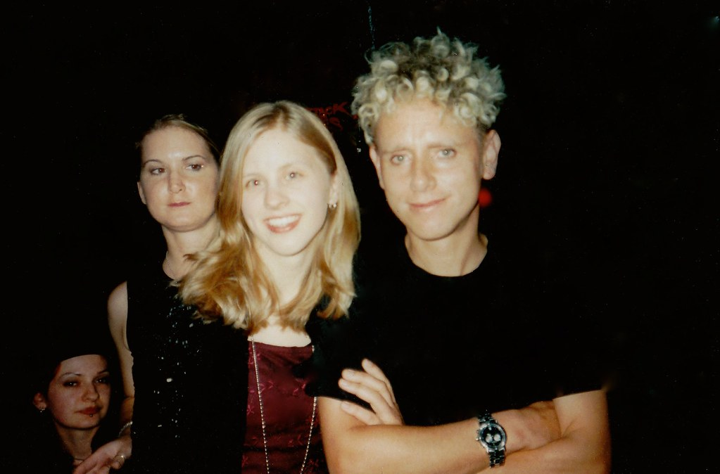 Tara Amp Martin Gore Chicago 1998 Me With Martin Gore At