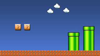 Super Mario Wallpaper | by BlueHouseBurning