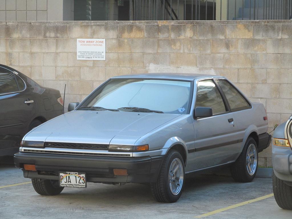 1987 Toyota Corolla Sr5 Sport Aka The Ae86 Corolla Levin