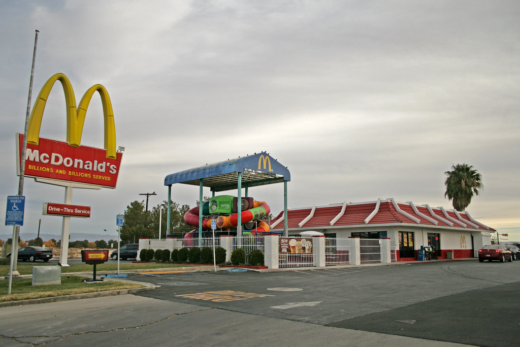 McDonald's Ridgecrest (California USA) | A typical ...