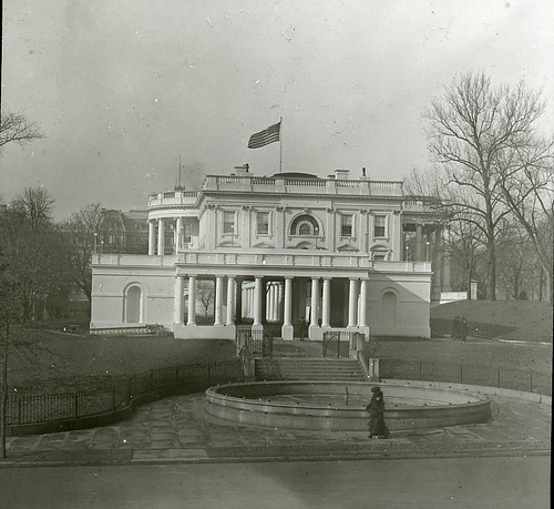 East Entrance of the White House | by DC Public Library Commons