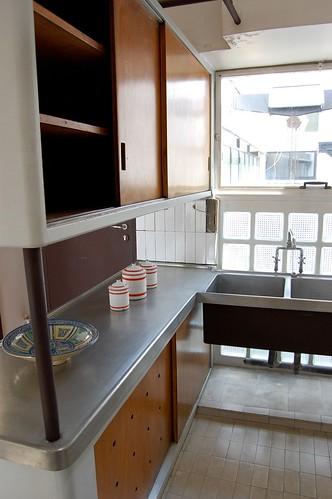 Atelier appartement de le corbusier kitchen le for Appartement atelier