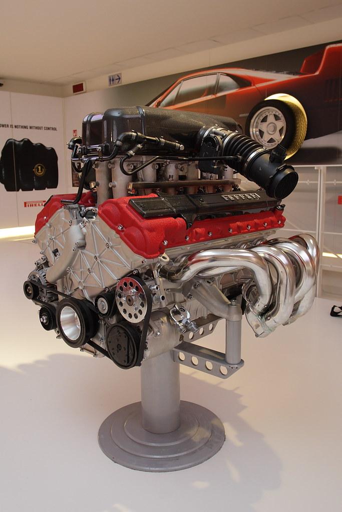 Ferrari Enzo Engine  Took from Galleria Ferrari Ferrari Enz