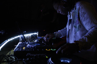 Osunlade on the decks | by Louis David Najar