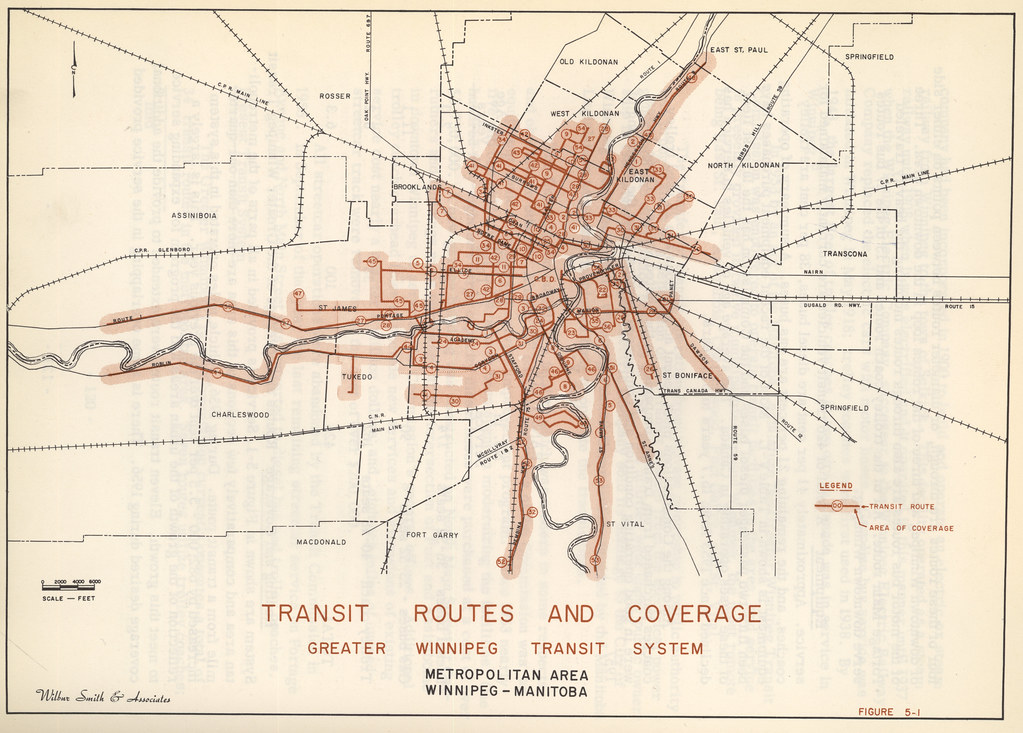 Transit Routes and Coverage Greater Winnipeg Transit Syste Flickr
