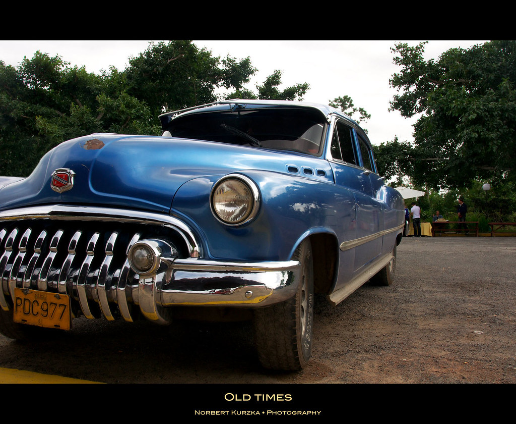 old times | Only a few of the old cars in Cuba look as good … | Flickr