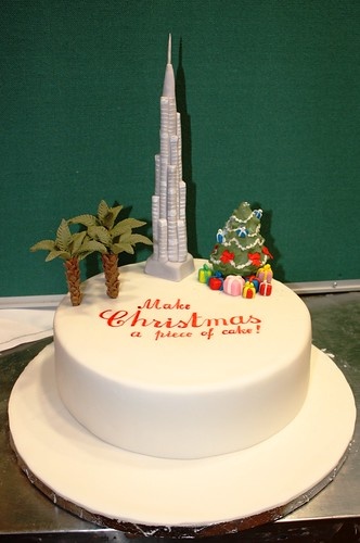 Cake Images In : burj dubai cake We made this cake for the cover of Time ...