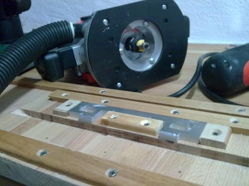 Router Jig For Kitchen Door Hinges