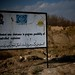 HALO Trust sign warning of landmine clearance in Herat, Afghanistan