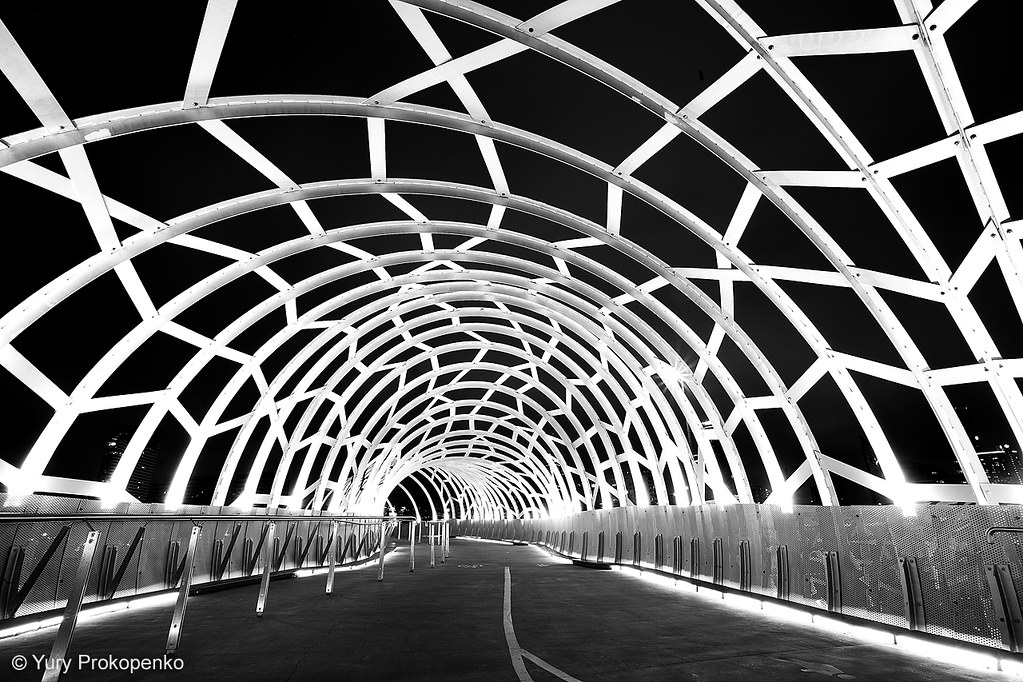 Melbourne australia webb bridge by yury