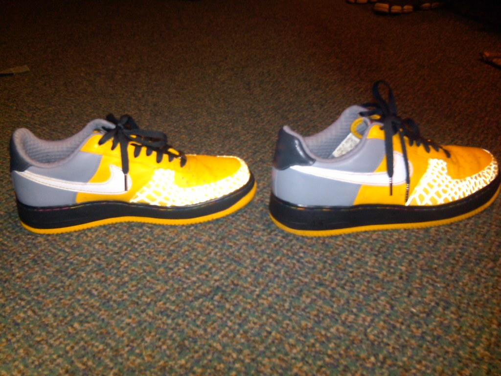 Nike Shoes Yellow Green