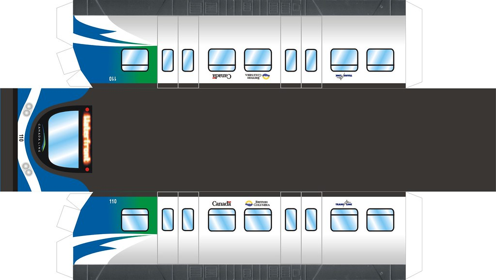canada line super express car 110 specifically made for