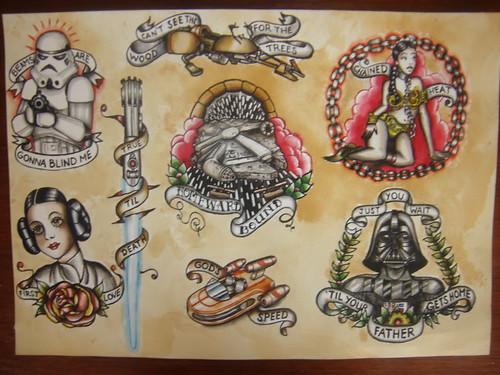Star Wars Flash Sheet 1 | Wang Dang Doodad | Flickr