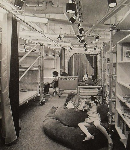 1970s nyc acorn school interior vintage design new york ci for Interior decoration school new york