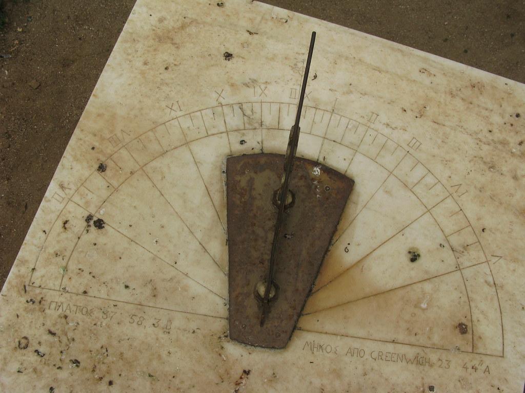 Sundial (National Garden, Athens, Greece) | Ηλιακό ρολόι. Εθ… | Flickr