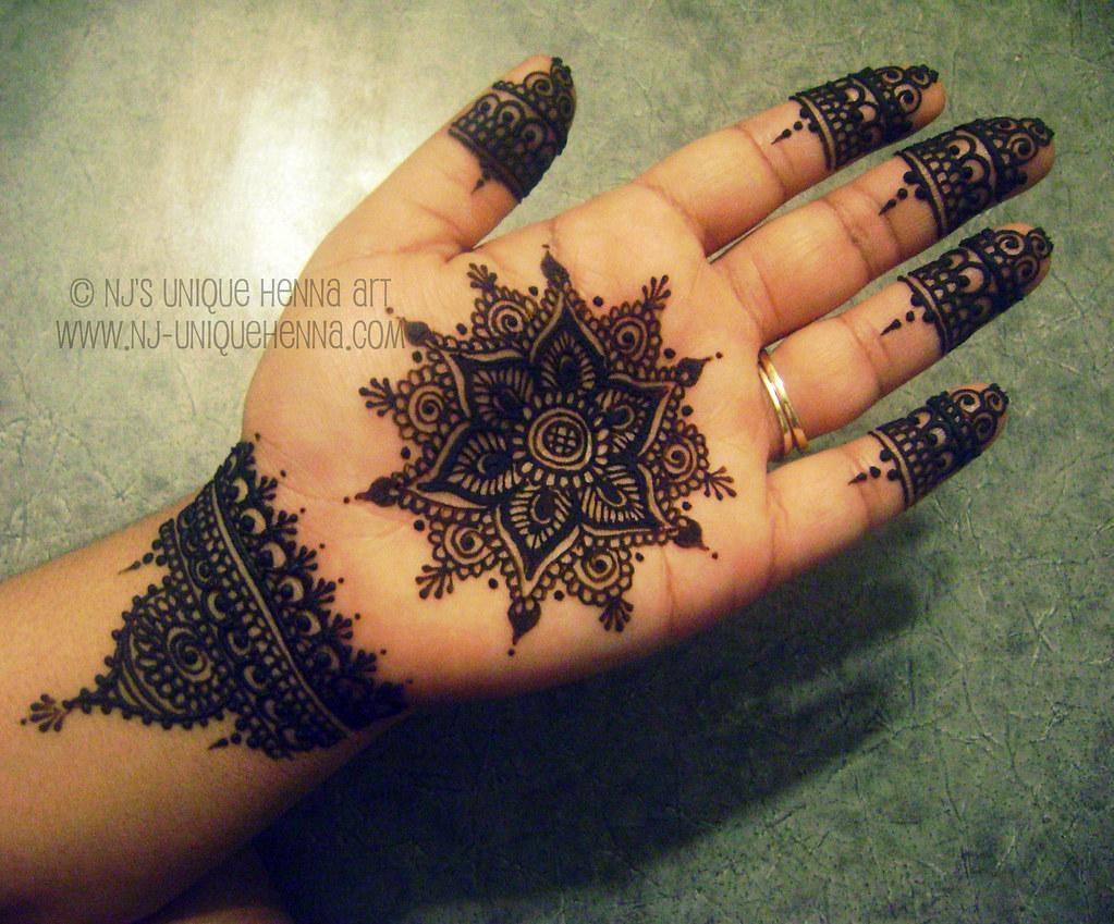 Mehndi Mandala Designs : How to simple mandala tutorial henna mehndi design samia