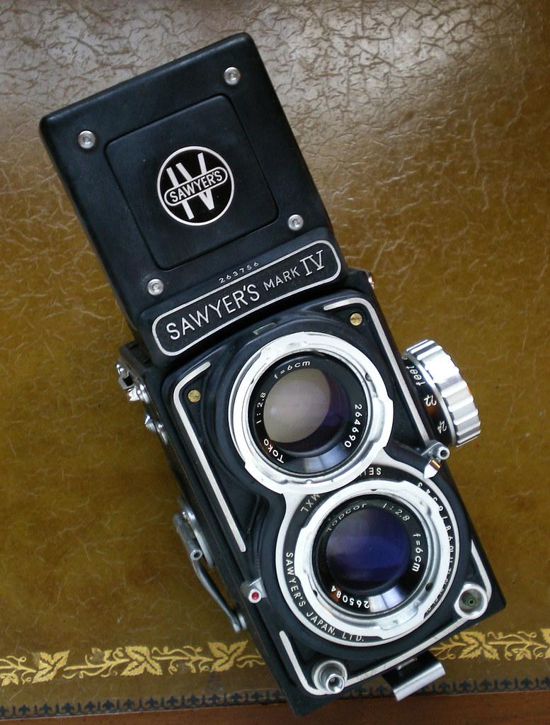 Sawyers Mark IV 127 TLR | Beautiful 127 film 4 x 4 camera. E… | Flickr