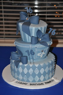 Denim and Diamonds Sweet 16 | by Designer Cakes By April