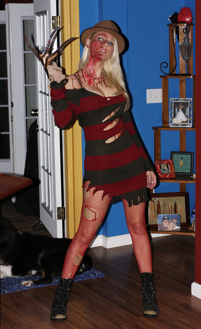 Sexy Freddy Krueger Costume  This Costume Is Actually -5324