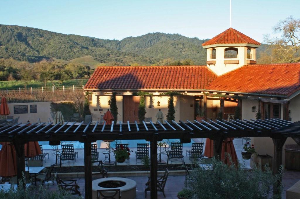 Napa Valley Lodge Distance To Villagio Inn And Spa