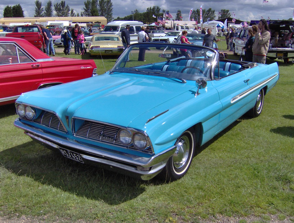 1961 pontiac catalina convertible in the uk americana. Black Bedroom Furniture Sets. Home Design Ideas