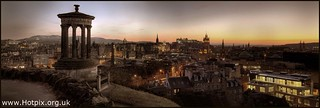 Carlton Hill Panorama at Dusk Sepia, Edinburgh, Scotland | by @HotpixUK -Add Me On Ipernity 500px