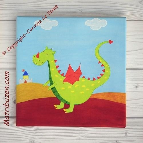 Tiragon, the dragon  Décoration pour la chambre des