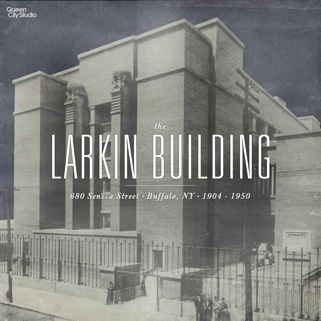 Larkin Building Frank Lloyd Wright the larkin building / ...