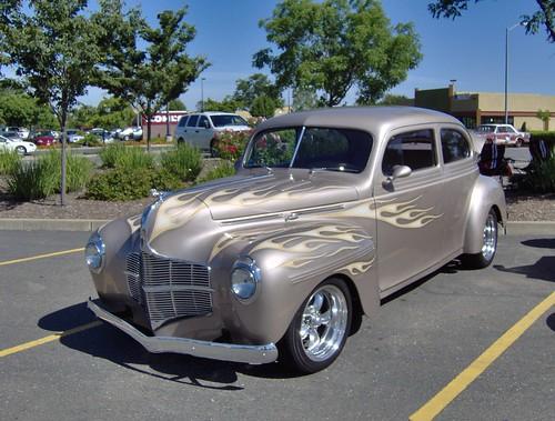 1940 dodge 2 door folsom car show california for 1940 dodge 2 door sedan