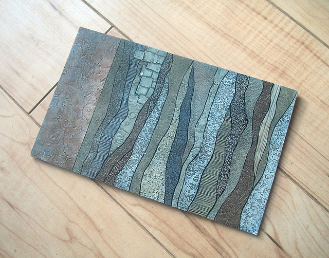 Layers collagraph plate the from