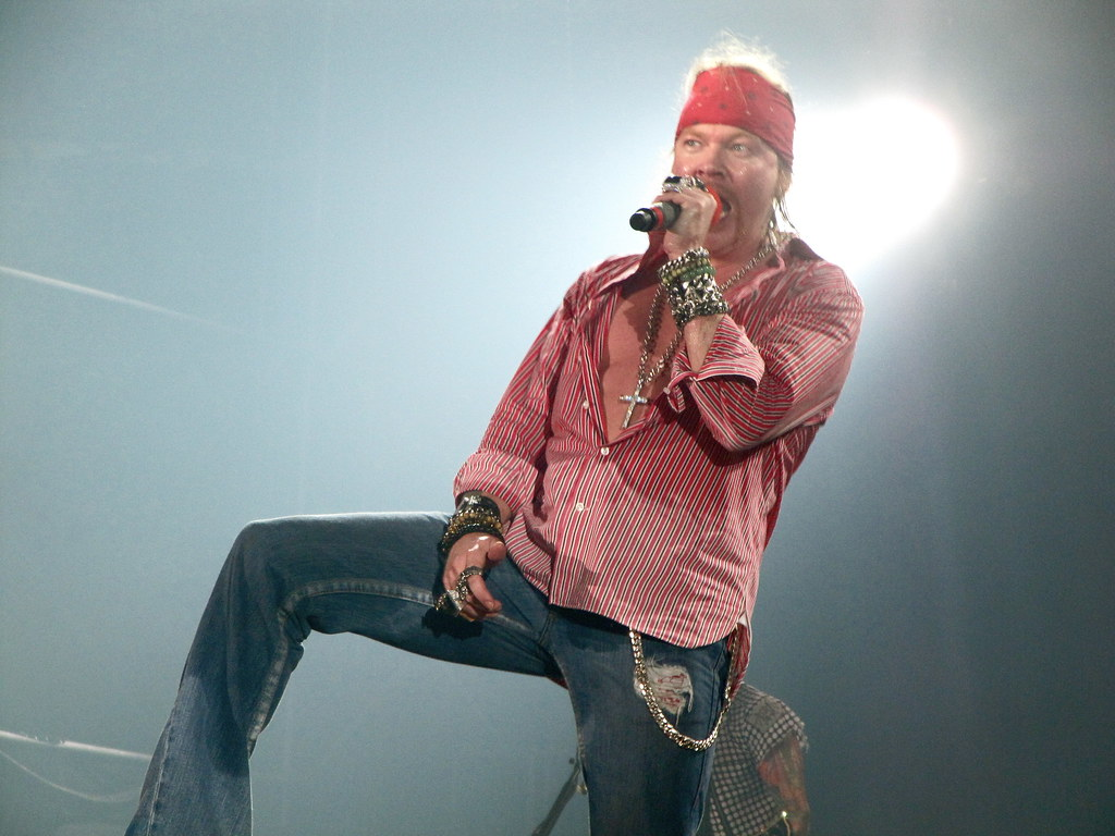 What Is Ce >> W. Axl Rose, Guns n´Roses Poliedro de Caracas 27 de Marzo ...
