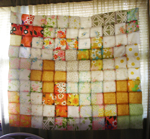 Plus Sign Quilt Top | by Favoritemoment