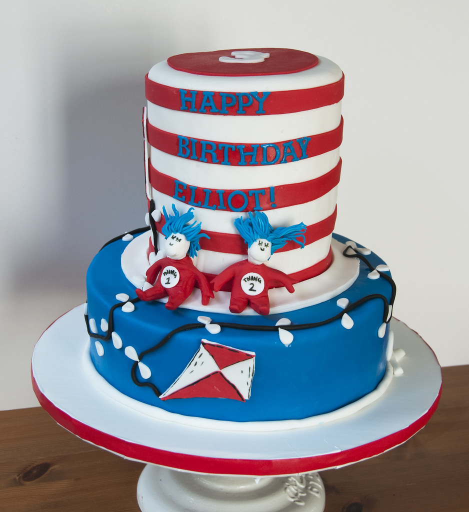 Cat In The Hat Cake Decorations
