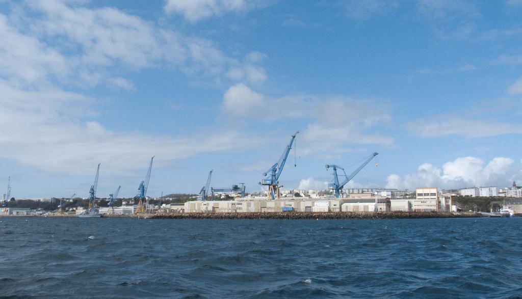 DCNS au port de Brest