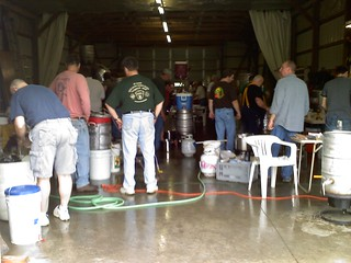 Wayne County, Ohio 140 gallon Brew Club Day | by taratara69
