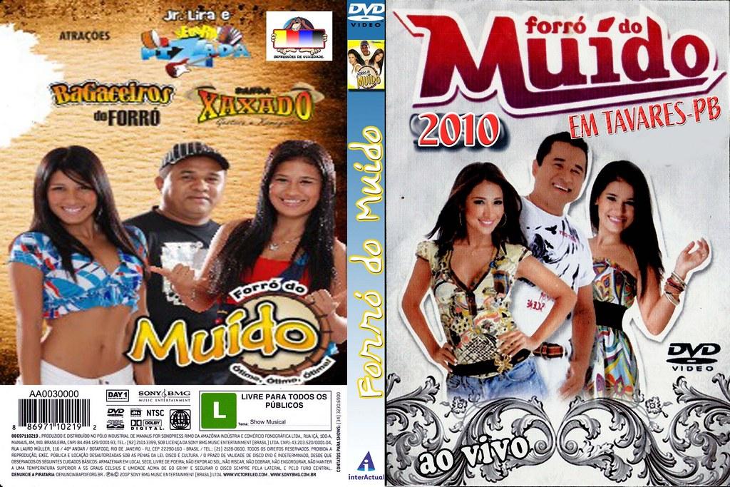 dvd forro do muido 2010