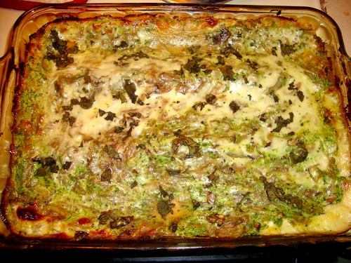 Caramelized Onion and Spring Spinach Lasagna   icookgood ...