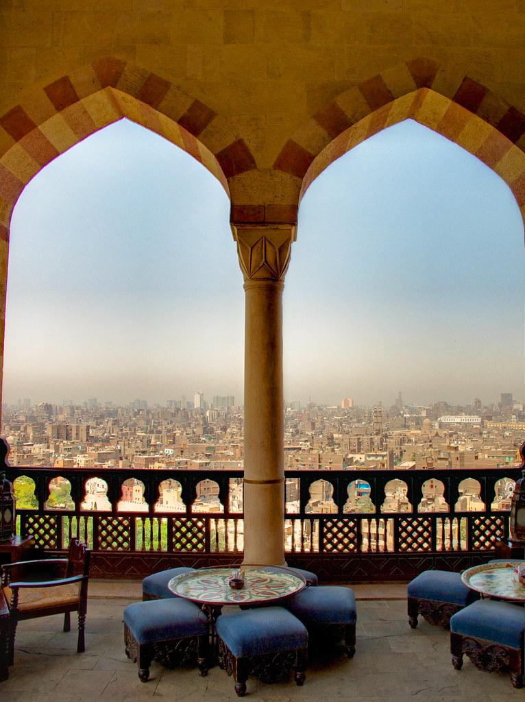 Al Azhar Park, Cairo   Citadel View Alain Le Notre ...
