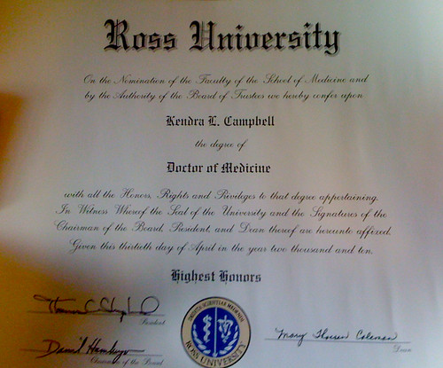 My Real Diploma | by theislandmedstudent