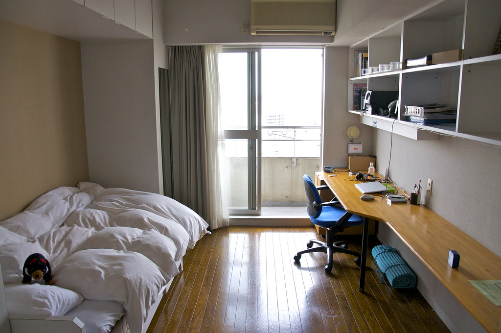 My room in Yokohama International Students House | Luis ...